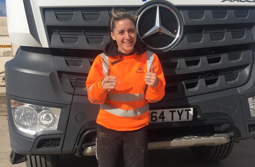Hopkins Concrete Female Drivers