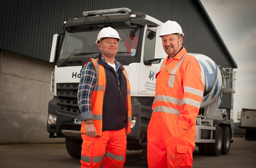 Hopkins Concrete invests in Mercedes-Benz fleet from Rygor