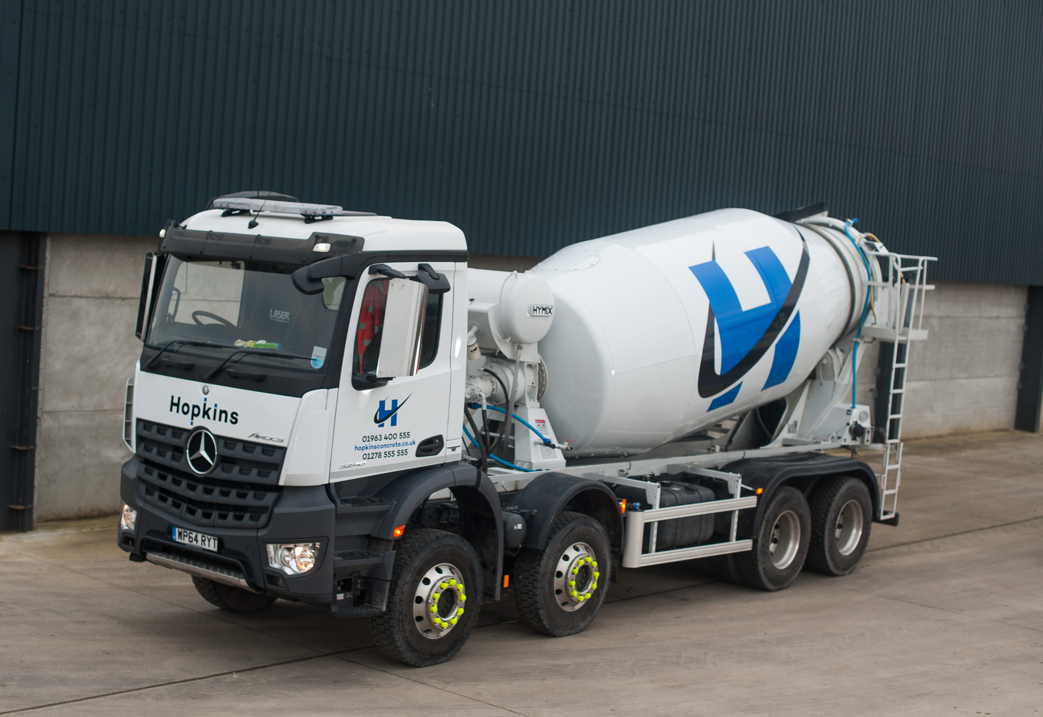 Hopkins Concrete Lorry in Bridgewater and Wincanton
